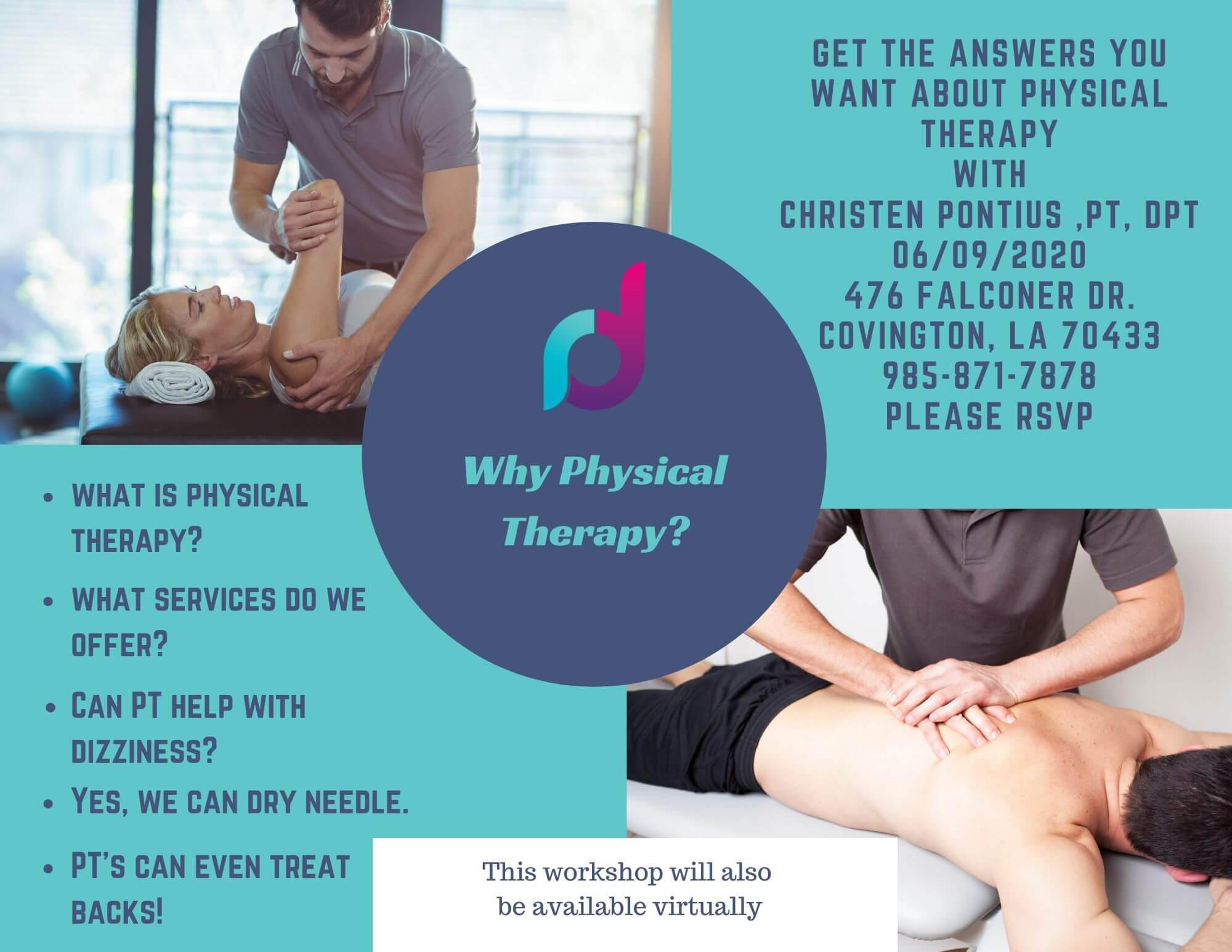 why PT workshop